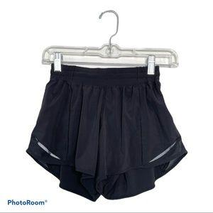 """Lululemon Hotty Hot Athletic Training Shorts 4"""""""